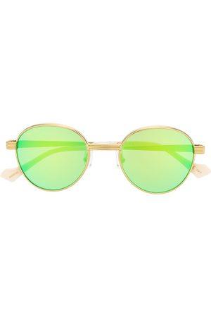 Gucci Round - Mirrored round-frame sunglasses