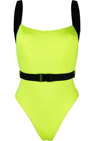 Noire Swimwear Miami two-tone swimsuit