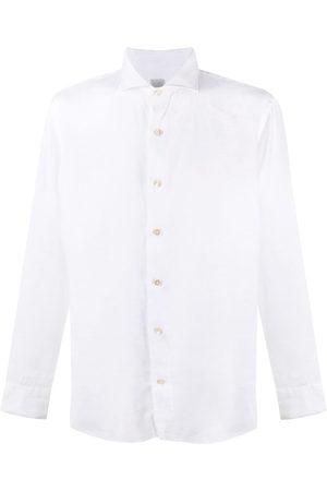ELEVENTY Long-sleeve linen shirt