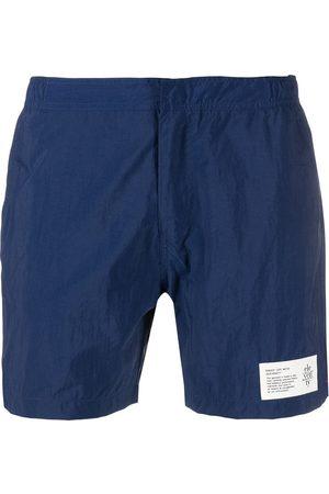 ELEVENTY Men Swim Shorts - Logo-patch swim shorts