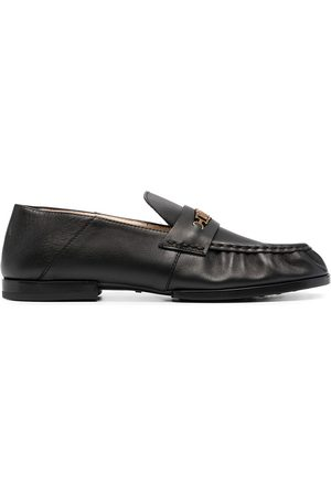 Tod's Chain-link detail loafers