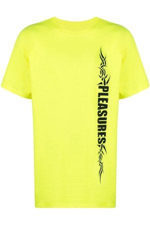 Pleasures Logo-print cotton T-Shirt