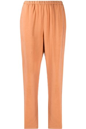 FORTE FORTE Women Straight Leg Pants - Elasticated cropped trousers