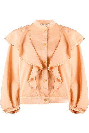 FORTE FORTE Women Blouses - Ruffled neck blouse