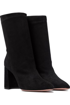 Aquazzura So Boogie 85 suede ankle boots
