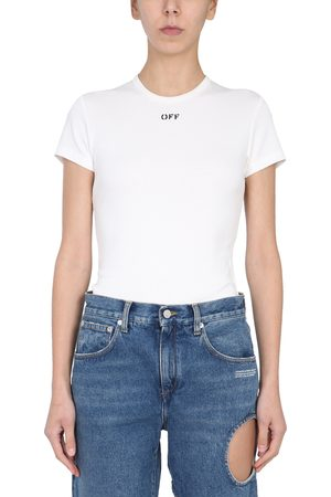 OFF-WHITE Women T-shirts - Crew neck t-shirt