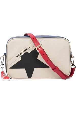 Golden Goose Women Shoulder Bags - Star leather crossbody bag