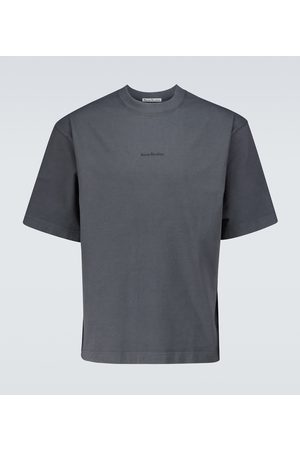Acne Studios Extorr Stamp logo T-shirt