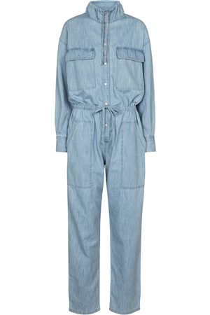 Isabel Marant Women Jumpsuits - Marvin cotton chambray jumpsuit