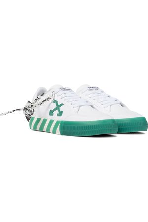 OFF-WHITE Exclusive to Mytheresa – Low Vulcanized canvas sneakers