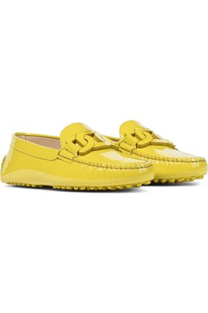 Tod's Kate patent leather loafers