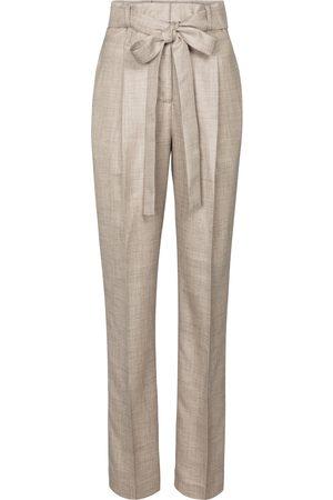 GABRIELA HEARST Collins wool, silk and linen pants