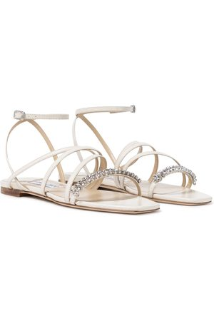 Jimmy Choo Maisie embellished leather sandals