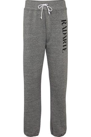 RODARTE Logo cotton-blend trackpants