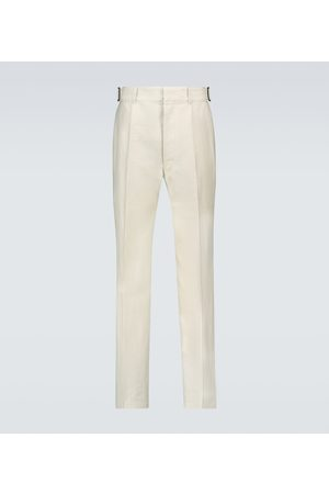 LEMAIRE Linen and cotton-blend pants