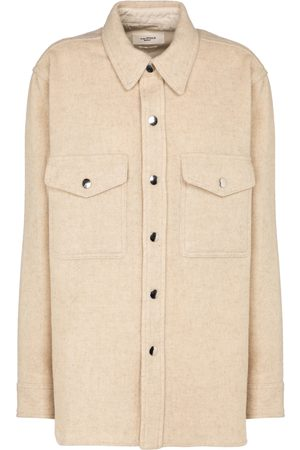 Isabel Marant Faxon wool-blend shirt