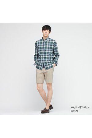 UNIQLO Men Long sleeves - Men's Extra Fine Cotton Broadcloth Long-Sleeve Shirt, , XXS