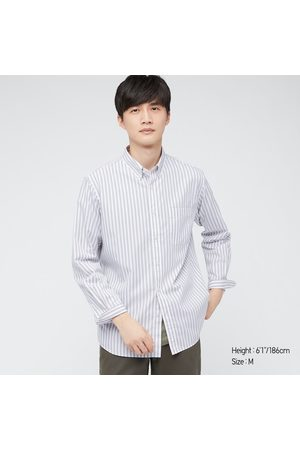 UNIQLO Men's Extra Fine Cotton Broadcloth Long-Sleeve Shirt, , XXS