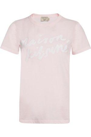 Maison Kitsuné Women Short Sleeve - Handwriting t-shirt