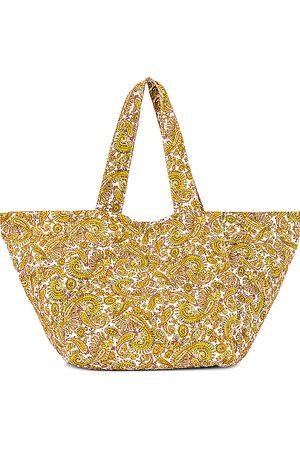 FAITHFULL THE BRAND Sorrento Tote Bag in Tan.