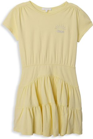 Chloé Girls Dresses - Little Girl's & Girl's Interlock Dress - - Size 6