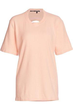 Proenza Schouler Women T-shirts - Women's Overdyed Recyled Jersey T-Shirt - - Size Small