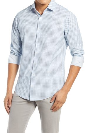 Mizzen+Main Men's Mizzen + Main Leeward Print Button-Up Performanceshirt
