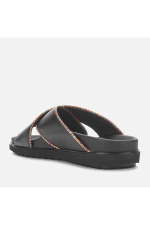 Paul Smith Men Sandals - Men's Pax Leather Cross Front Sandals