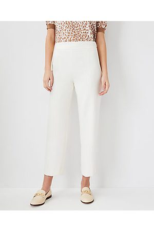 ANN TAYLOR The Straight Crop Pant