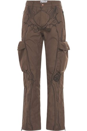 Formy Studio Men Cargo Pants - Ultrasound Embroidered Cargo Pants