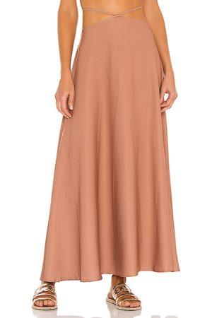 Agua Bendita X REVOLVE Opal Skirt in Mauve.