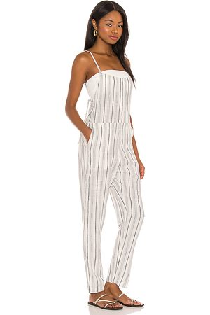 L*Space Sadie Jumpsuit in Ivory.