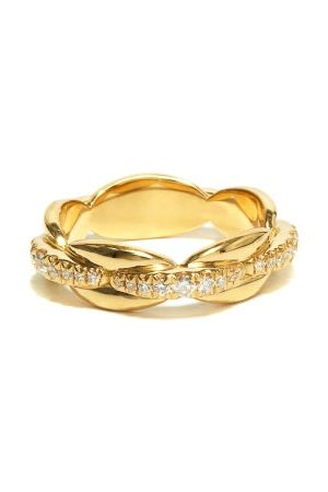 Melissa Kaye Women Rings - Ada Diamond & 18kt Ring - Womens