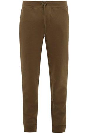 Polo Ralph Lauren Logo-embroidered Jersey Track Pants - Mens - Khaki