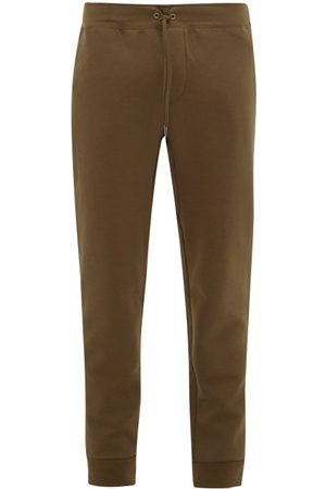 Polo Ralph Lauren Men Sweatpants - Logo-embroidered Jersey Track Pants - Mens - Khaki