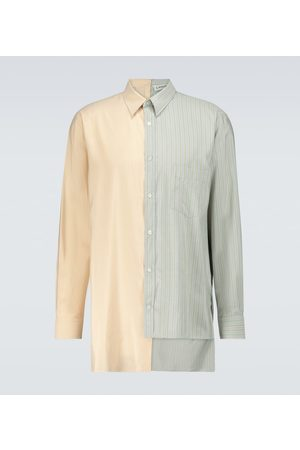 Lanvin Asymmetrical long-sleeved shirt