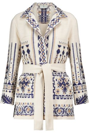 Etro Wool and cotton-blend jacket