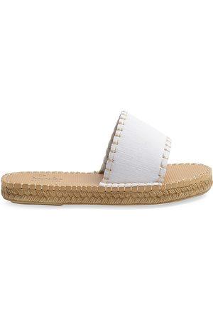 Sea Star Beachwear Women's Cabana Neoprene Slides - Denim - Size 9 Sandals