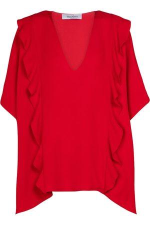 VALENTINO Silk crêpe blouse