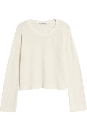 Groceries Apparel Women's Solstice Organic Cotton & Recycled Polyester Crop Sweatshirt
