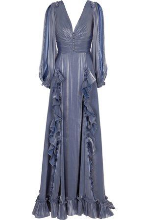 Costarellos Selda georgette gown