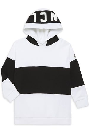 Moncler Little GIrl's & Girl's Contrast Hoodie - - Size 8
