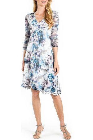 Komarov Women's Tiered A-Line Midi Dress