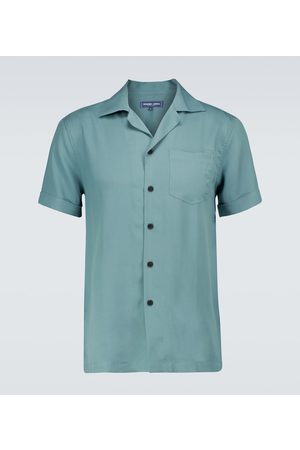 Frescobol Carioca Thomas TENCEL® camp-collar shirt