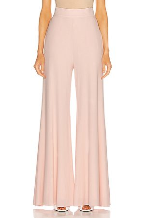 ALEXANDRE VAUTHIER Wide Leg Pant in Pink