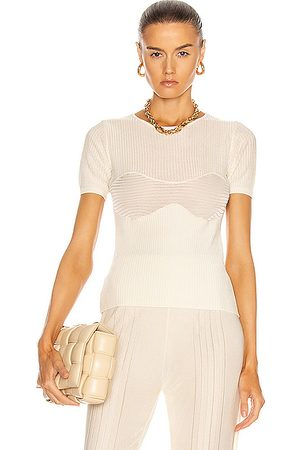 Auteur Emma Knit Corset Top in Neutral