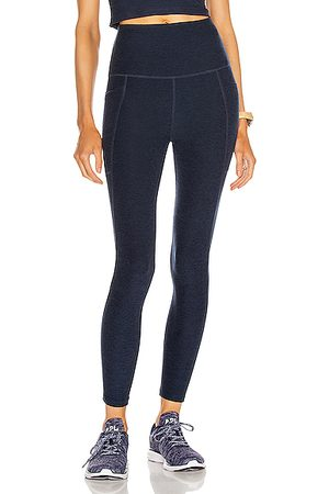 Beyond Yoga Spacedye Out Of Pocket High Waisted Midi Legging in