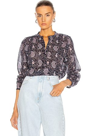 Isabel Marant Maria Shirt in Blue,Paisley,Purple