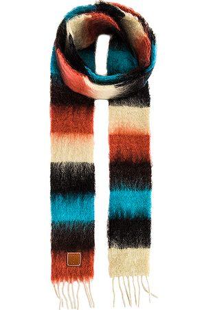 Loewe Stripe Mohair Scarf in ,Red,Stripes