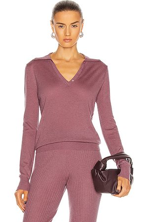 SABLYN Lexi Polo Top in ,Purple